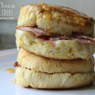 Ham and Cheese Biscuit Sliders