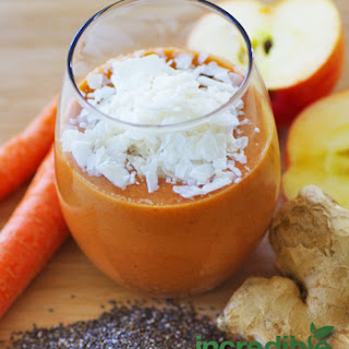 Apple-Coconut with Ginger and Chia Seeds Smoothie Recipe