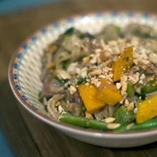 Thai Peanut Noodle Stir-Fry.