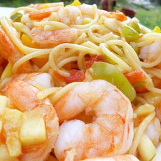 Summer Shrimp Pasta