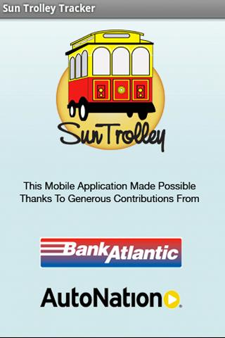 Sun Trolley Tracker- screenshot