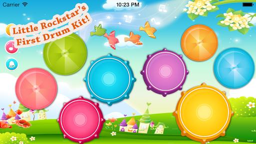 ベビードラムアプリ – 童謡付きミュージカルゲーム