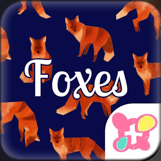Animal Wallpaper Foxes Icon