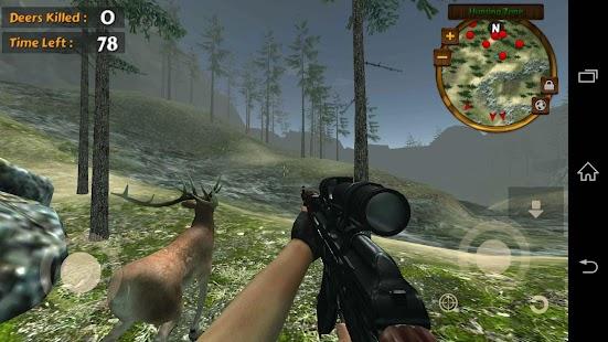 играть в игры про охоту на оленей