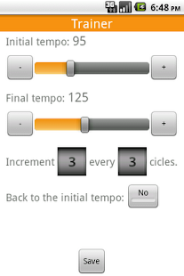 Advanced Metronome - screenshot thumbnail