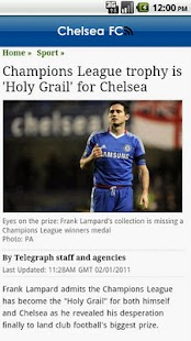 Chelsea: FanZone - screenshot thumbnail