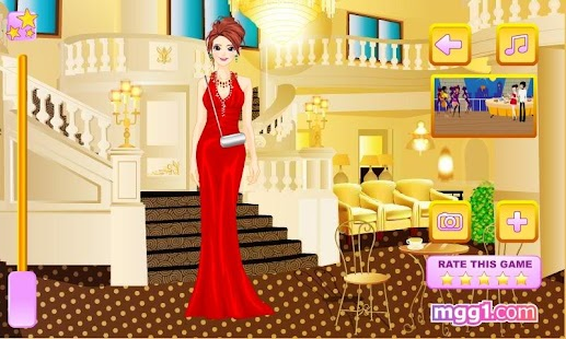 Upper Class Party Dress Up - screenshot thumbnail