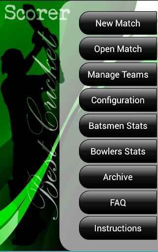 Best Cricket Scorer FULL