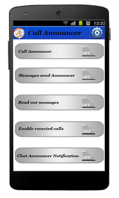 Caller Name & SMS Talker- screenshot