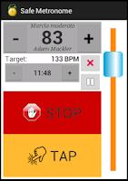 Screenshot of Safe Metronome