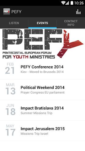 Pentecostal European Forum