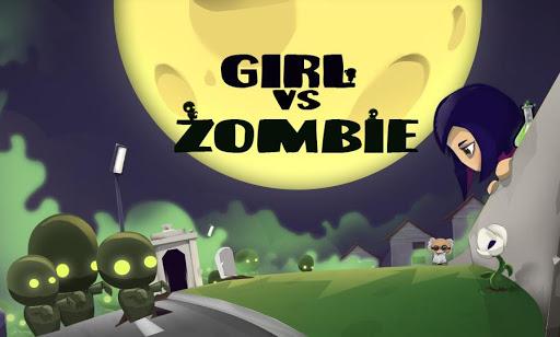 殭屍小遊戲 - 殭屍與女孩