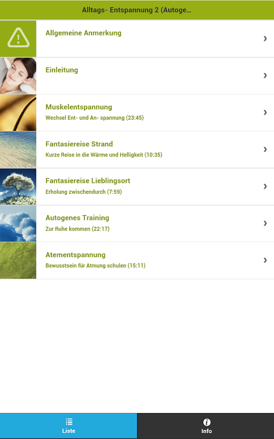 Alltags- Entspannung 2- screenshot