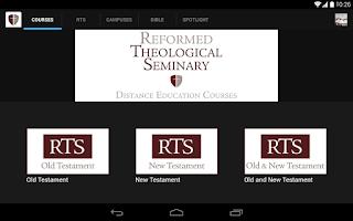 Screenshot of Reformed Theological Seminary