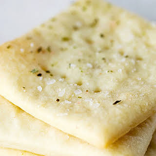 Homemade Soda Crackers.