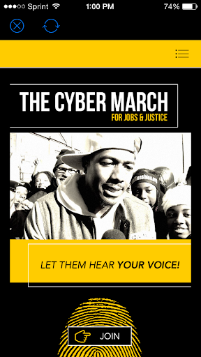 The Cyber March