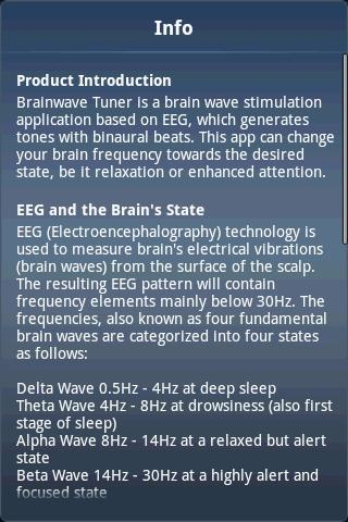 Brainwave Tuner (Full Version)- screenshot