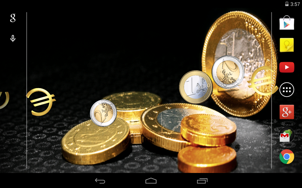 euro money live wallpaper android apps on google play