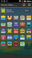Screenshot of Monster Alliance GO Theme