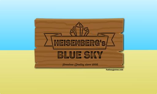 Heisenberg's Blue Sky
