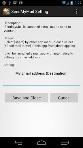 Send My Mail