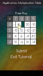 Multiplication Table - screenshot thumbnail