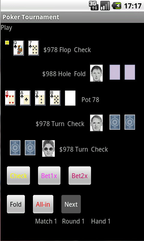 poker tournament app