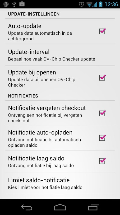 OV-Chip Checker Plus - screenshot
