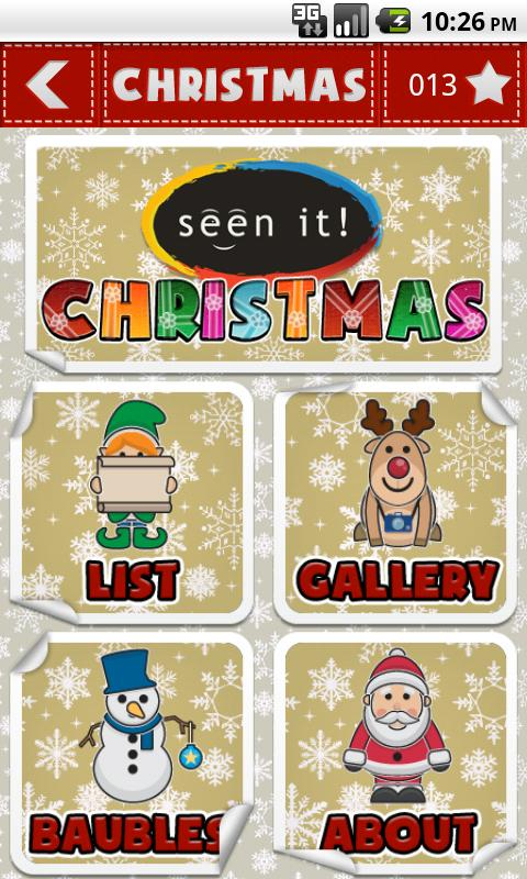 Seen It! Christmas - screenshot