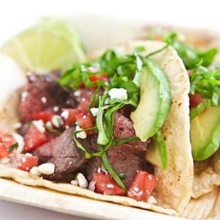 Skirt Steak Tacos.