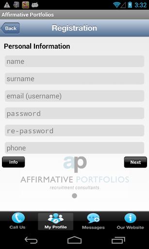 Affirmative Portfolios 1.2 screenshots 3