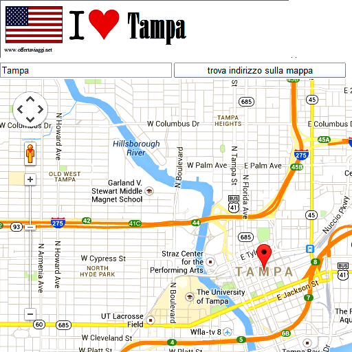 Tampa maps