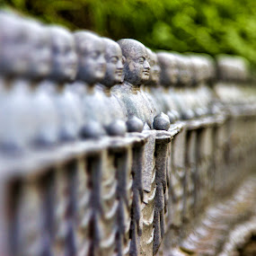 Stone Focus by Lenny Sharp - Buildings & Architecture Statues & Monuments ( temple, statue, japan, kamakura, hasadera )