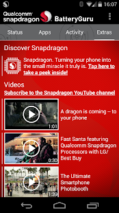 Snapdragon™ BatteryGuru - screenshot thumbnail