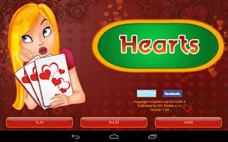 Screenshot of Hearts Deluxe