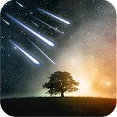 Meteor Shower LWP Free&Pro
