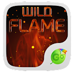 Wild Flame GO Keyboard Theme 1.188.1.84 Apk