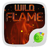 Wild Flame GO Keyboard Theme