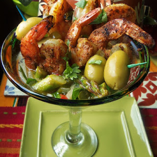 "Mexican Shrimp ""Martini"""