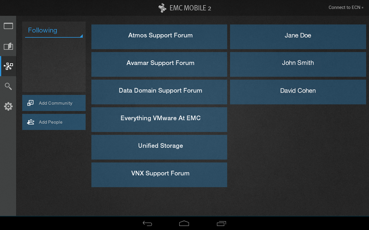 EMC MOBILE - screenshot