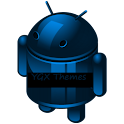 YGX CM10 Theme Blue Scale icon
