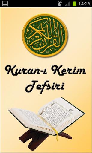 Kuran-ı Kerim Tefsiri
