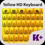 Yellow HD Keyboard Theme