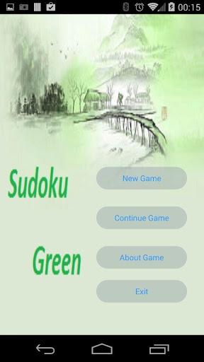 Sudoku Green