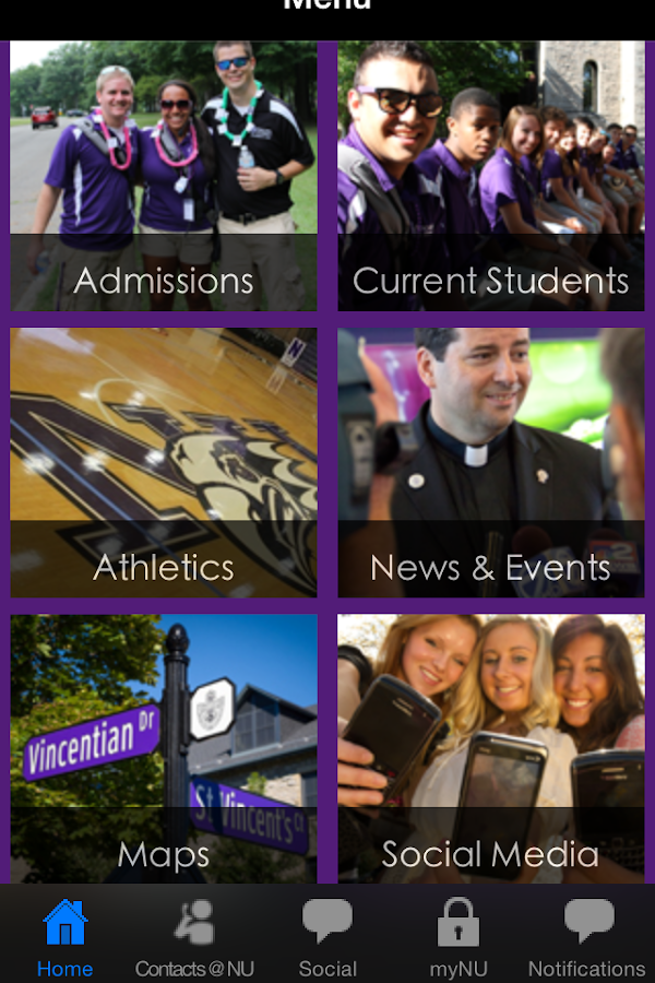 Niagara University - screenshot
