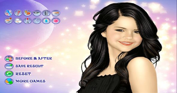 Selena Gomez Makeover - screenshot thumbnail