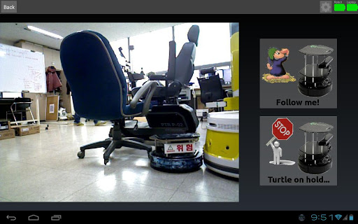 TurtleBot Follower Groovy