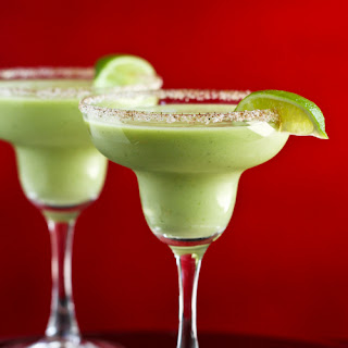 Kicked-Up Avocado Margarita Recipe for Cinco de Mayo.