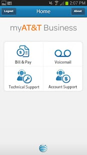 myAT&T Business - screenshot thumbnail