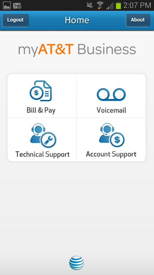 myAT&T Business - screenshot